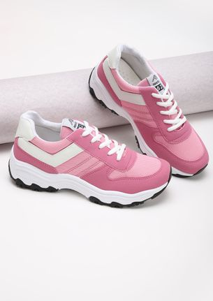 BASIC PINK SNEAKERS