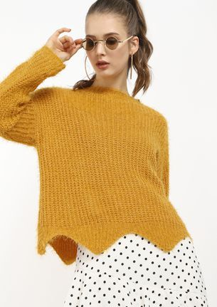 MAKE A BREAK YELLOW JUMPER