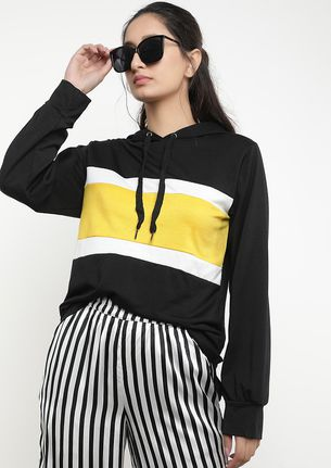 GONE WITH THE BRIGHTS BLACK HOODIE