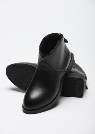 NEED A CLASSIC UPDATE BLACK ANKLE BOOTS