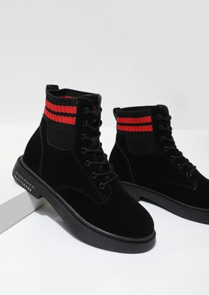 Step Up Your Game Black Boots