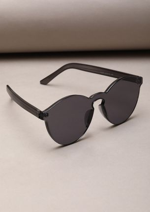 EYES ON THE REWARD BLACK CATEYE SUNGLASSES