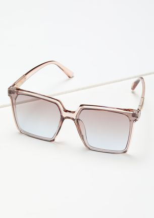 THE CLEAN AND CLASSY BLUE TEA BROWN WAYFARERS