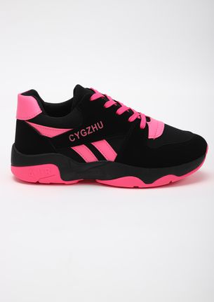 GOING FOR A RUN PINK TRAINERS