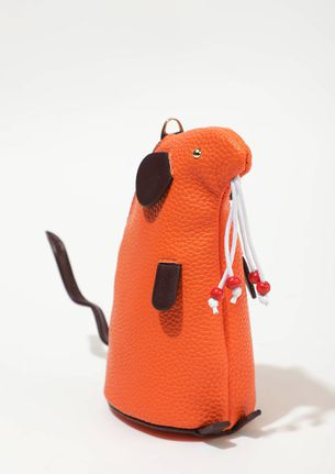 CRESCENT ON THE RISE ORANGE POUCH SLING