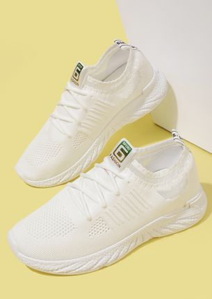 COOL FOR THE STREET WHITE TRAINERS