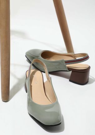 IN A HUMBLE MOOD GREY HEELED SANDALS