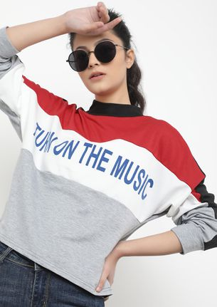 Turn On The Music Red T-Shirt