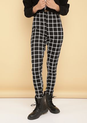 CHECK ME OUT BLACK TREGGINGS
