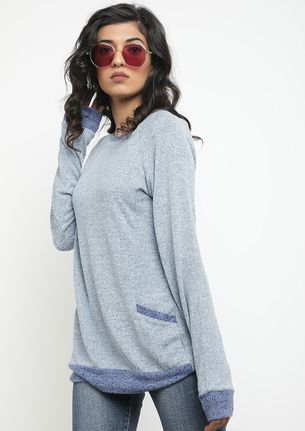 LAZY DAYS BLUE JUMPER