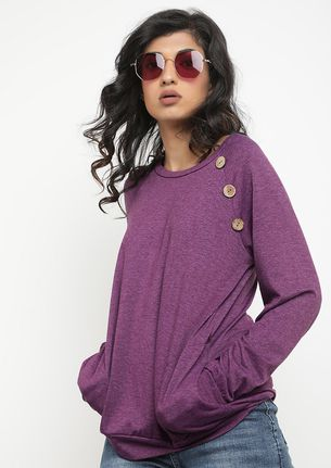 WARM UP TO ME PURPLE JUMPER