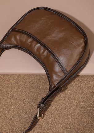 GOING OUT AND ABOUT BROWN CROSSBODY BAG