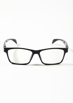 Geek And Chic Black Square Sunglasses
