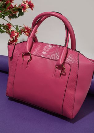 LEGALLY CHIC PINK BAG