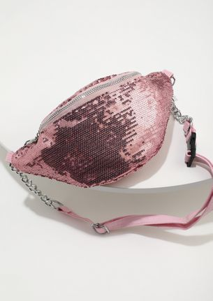 WRAP AROUND THE TREND PINK SLING BAG
