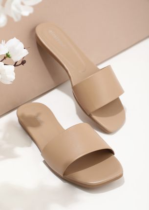 SUCH A DAY TO DAY PINK FLAT SANDALS