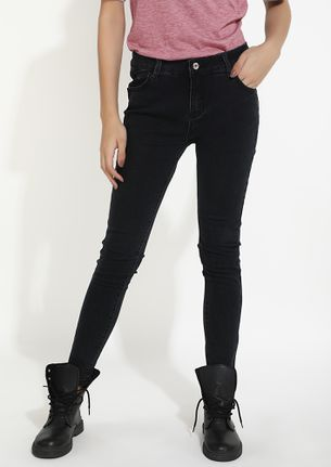 TOO MANY PLACES TO BE BLACK JEANS