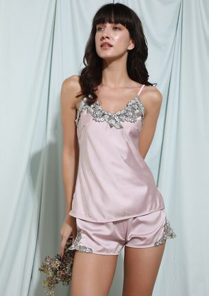 I'VE GOT PLACES TO DREAM OF LIGHT PINK SLEEPWEAR