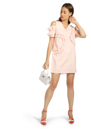 TOTALLY CHIC BABY PINK SHIFT DRESS