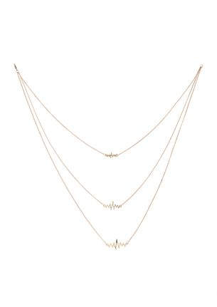 GOSS BABE MY ONLY LIFELINE GOLD NECKLACE