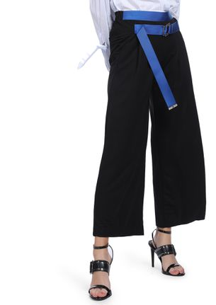 EDGE UP YOUR COOL BLACK PALAZZOS