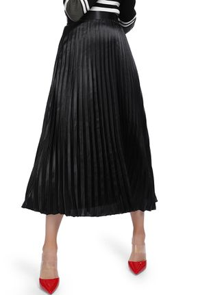 COM-PLEAT MY HEM BLACK MIDI SKIRT