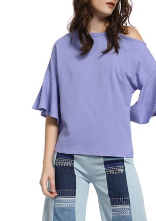 SUCH A SWEETHEART MAUVE TOP