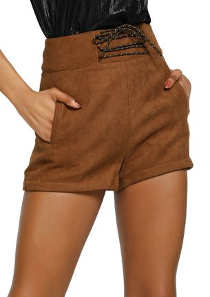 MIXED FEELINGS TAN CASUAL SHORTS
