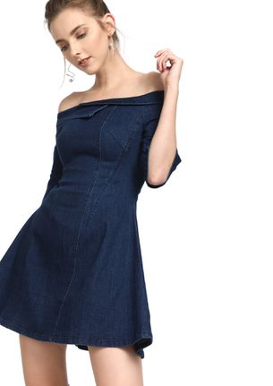 ONLY YOURS BLUE DENIM DRESS