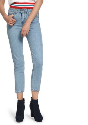 STAND UP AND BE COUNTED LIGHT BLUE STRAIGHT JEANS