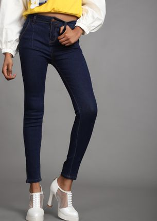 From Fit To Fitter Blue Skinny Jeans