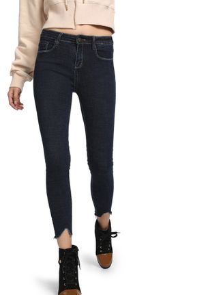 CUFFING HOT BLUE SKINNY JEANS