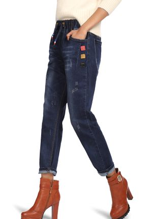 WAKE UP AND RUN BLUE JOGGER JEANS