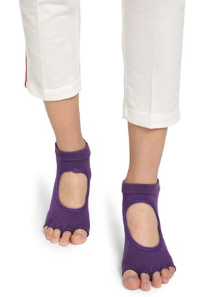 ALL ABOUT THE UNCUT PURPLE ANKLE SOCKS