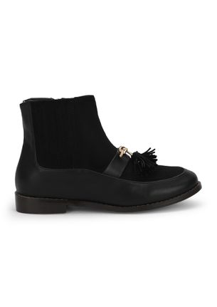SUCH IS MY STYLE BLACK ANKLE BOOTS