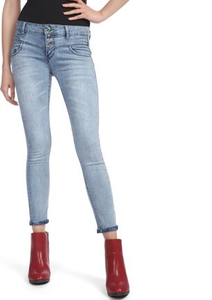 SURE THING LIGHT BLUE SKINNY JEANS