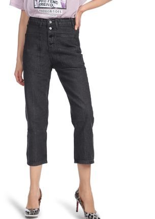 MORNING OCASSION BLACK CROPPED JEANS