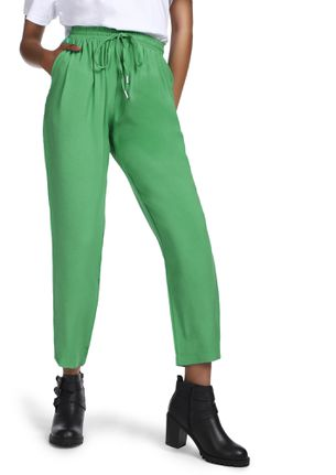 ALL ABOUT SMARTNESS GREEN PANTS