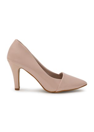 POINT TO BE NOTED NUDE PINK PUMPS