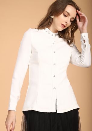 THE UPTOWN CHIC AFFAIR WHITE SHACKET