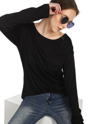 GET YOUR BASICS CLEAR BLACK T-SHIRT