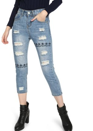 BRING IT ON BLUE RIPPED JEANS