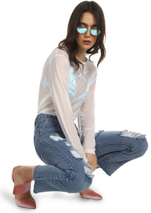 HAPPY ENDING LIGHT BLUE CROPPED JEANS