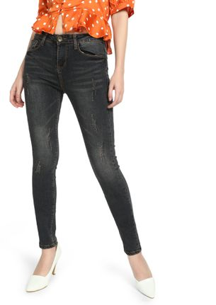 STOP SCRATCHING THE SURFACE CHARCOAL SLIM-FIT JEANS