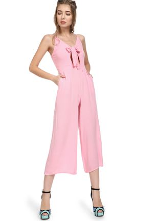 NO CHILLS HERE PINK JUMPSUITS