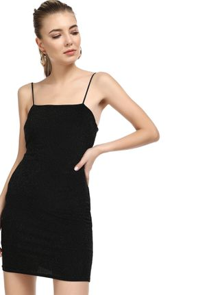 LIFE IS A PARTY BLACK BODYCON DRESS