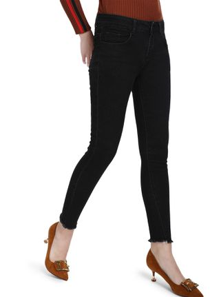 IN YOUR MIND BLACK SKINNY JEANS