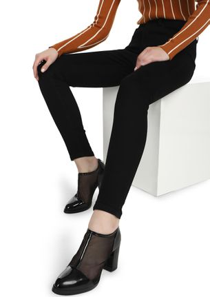 ALWAYS AND FOREVER YOURS BLACK SLIM FIT JEANS