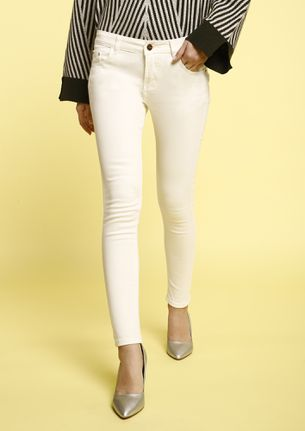 MY ONLY FRIEND WHITE SKINNY JEANS