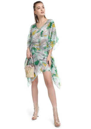 SUNRISE BY THE BEACH GREEN COVER UP